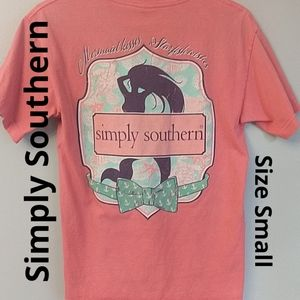 Simply Southern Mermaid Small T-shirt